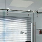 barn door track hardware glass sliding door hardware kit