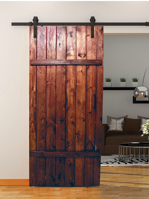 barn door track hardware classic strap wood barn door